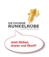 Die goldene Runkelrübe der HR Kommunikation!