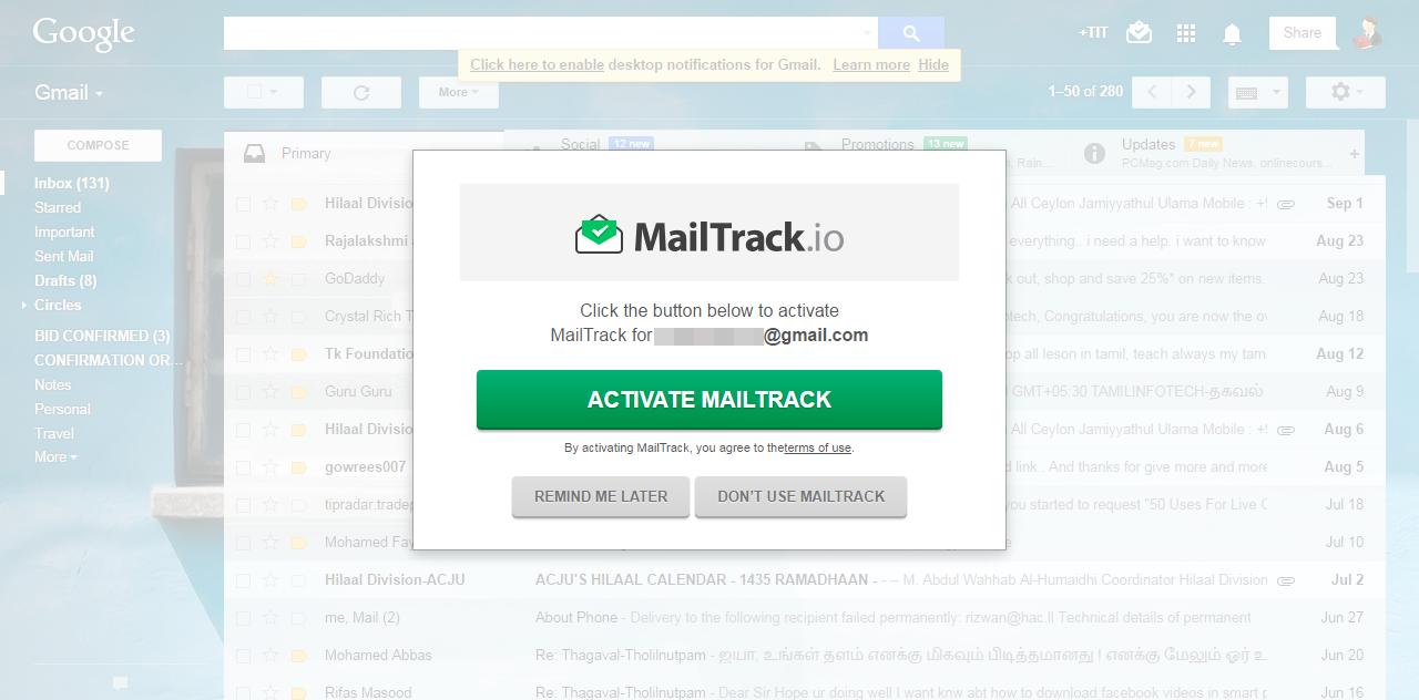 mail track io