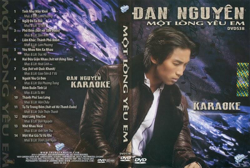 Asia Karaoke S38- Đan Nguyên Một Lòng Yêu Em [DVD.ISO]