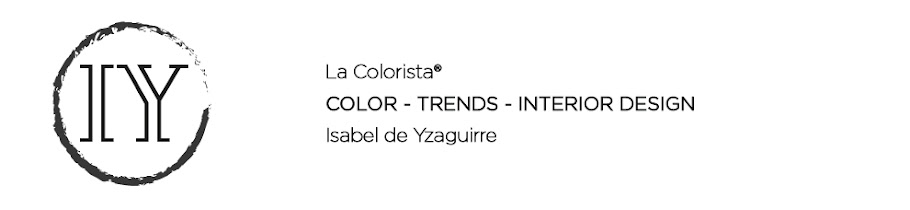 La Colorista Isabel de Yzaguirre - Colour, Trends and Interior Design in  Barcelona - English.