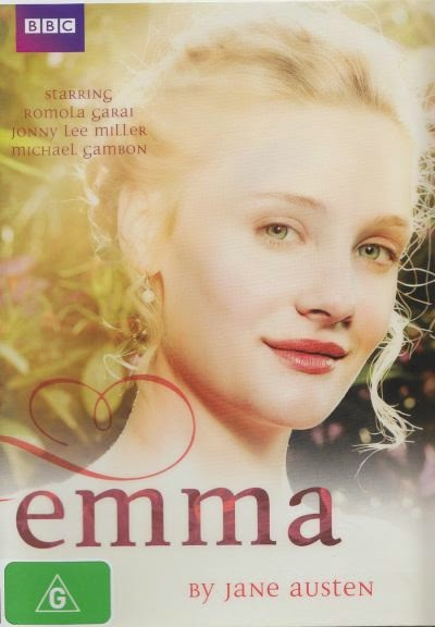 DVD Cover: Emma 2009, starring Romola Garai and Jonny Lee Miller