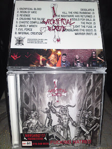 SACRIFICIAL BLOOD''unholy fucking hatred""
