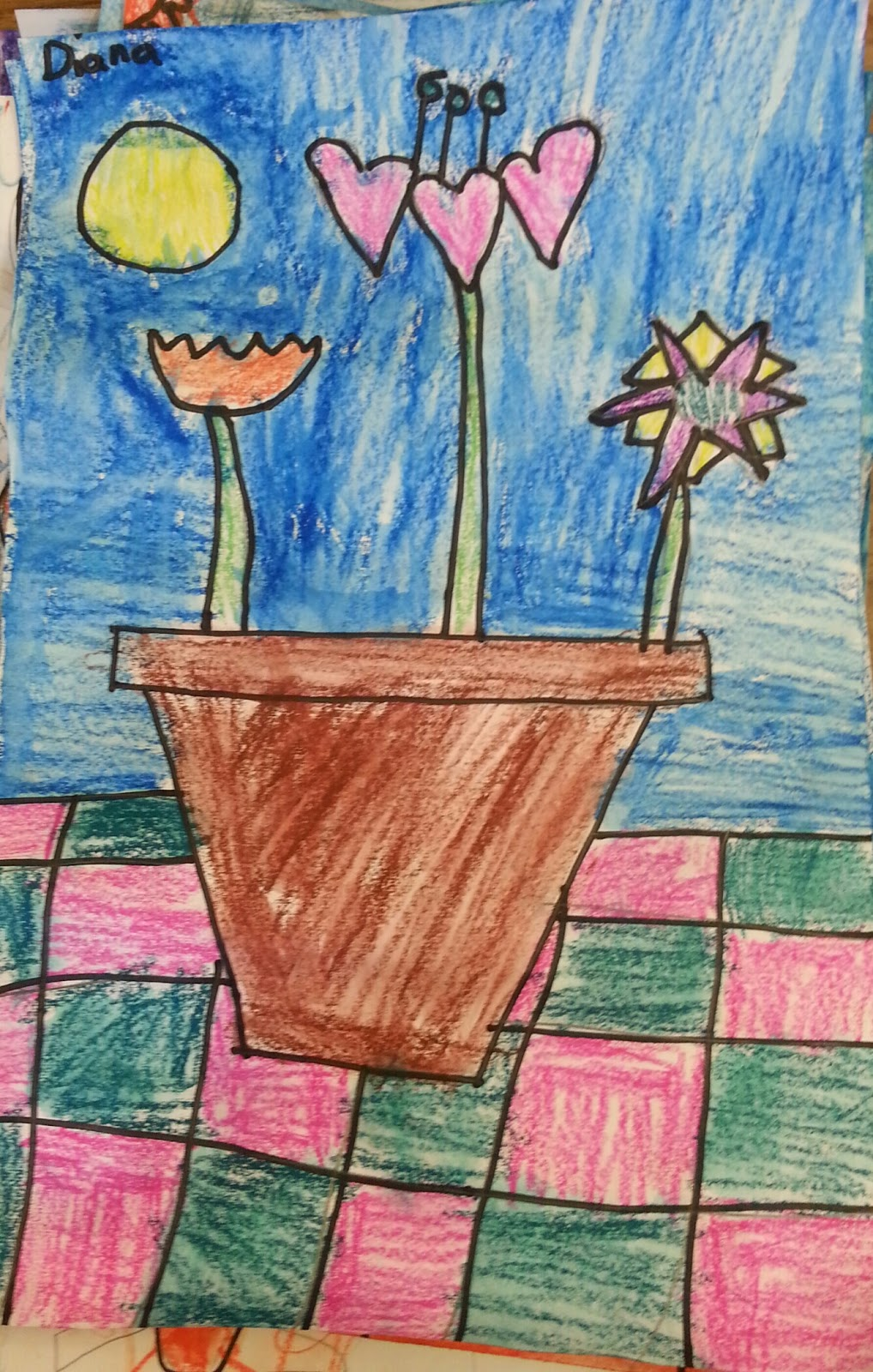 Tales From The Traveling Art Teacher Watercolor Still Life Flowers
