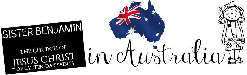Sister Benjamin in Australia