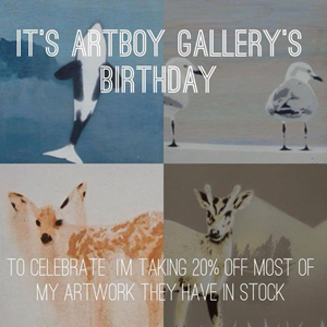 Nicole Tattersall ArtBoy Gallery