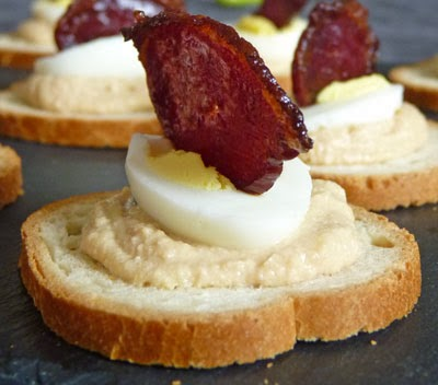 canape mousse foie gras