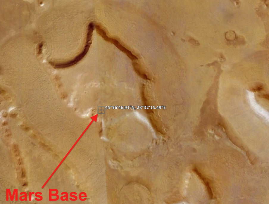 alien base on mars - photo #20