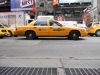 yello cab new york city