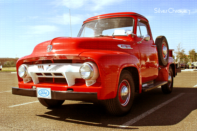 Valley Ride Styles 1954 Ford F100