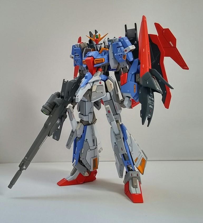 HGBF Lightning Zeta Gundam Model Kit