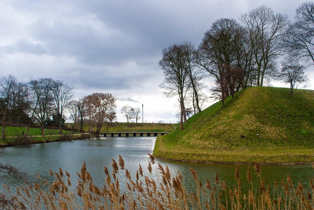 River in Kastellet Copenhagen