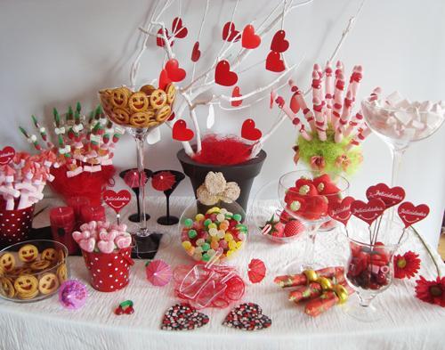 Cupcakes sisteronaisses candy bar ou bar bonbons - Mesa de chuches casera ...