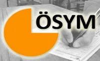 ÖSYM, 2013 sınav takvimini yayınladı.
