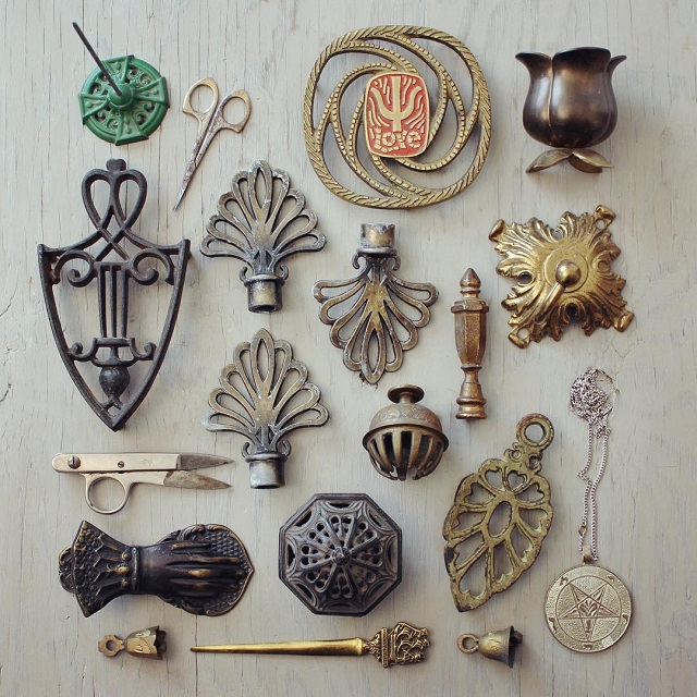 #thriftscorethursday Week 81 | Instagram user: suite22antiques shows off this Metal Antique Collection