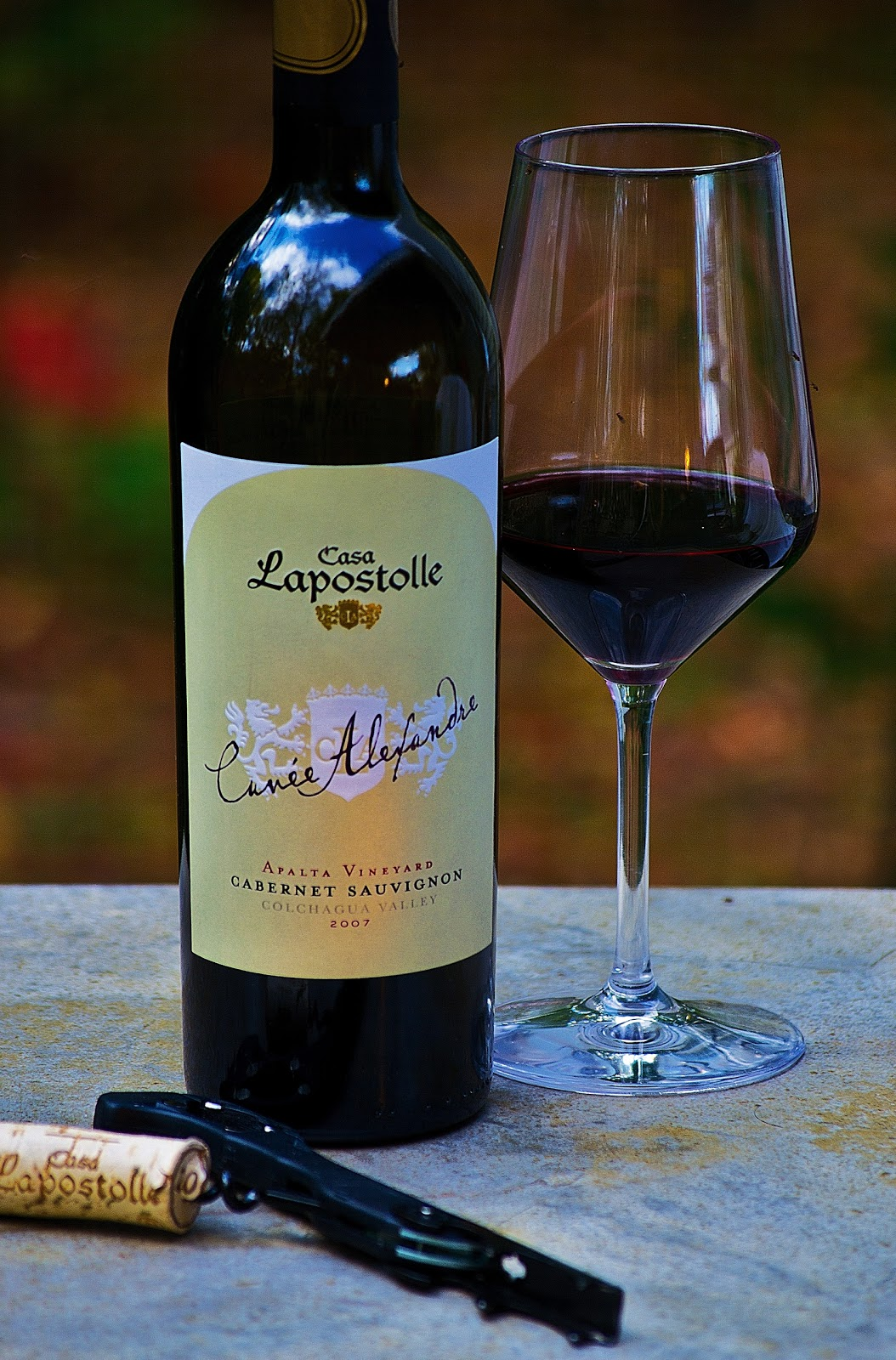 New hampshire wine man casa lapostolle cuv e alexandre for Casa lapostolle