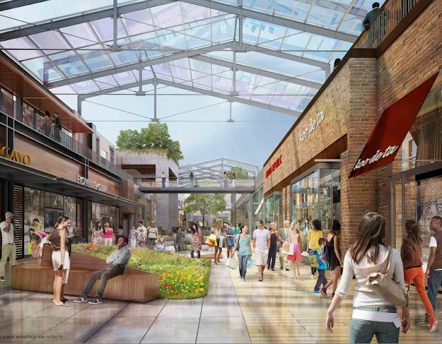 Construir n plaza comercial de lujo town square en - Centro comercial de la moraleja ...