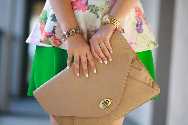 floral peplum, maternity, green skirt, windsor skirt, circle skirt, ray ban, zara heels