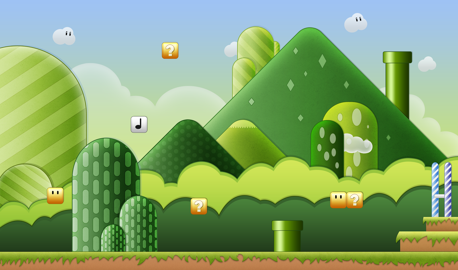 Super Mario HD & Widescreen Wallpaper 0.335295814394752