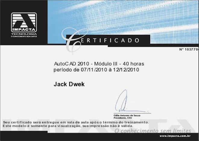 AutoCAD 2010 - Modulo III