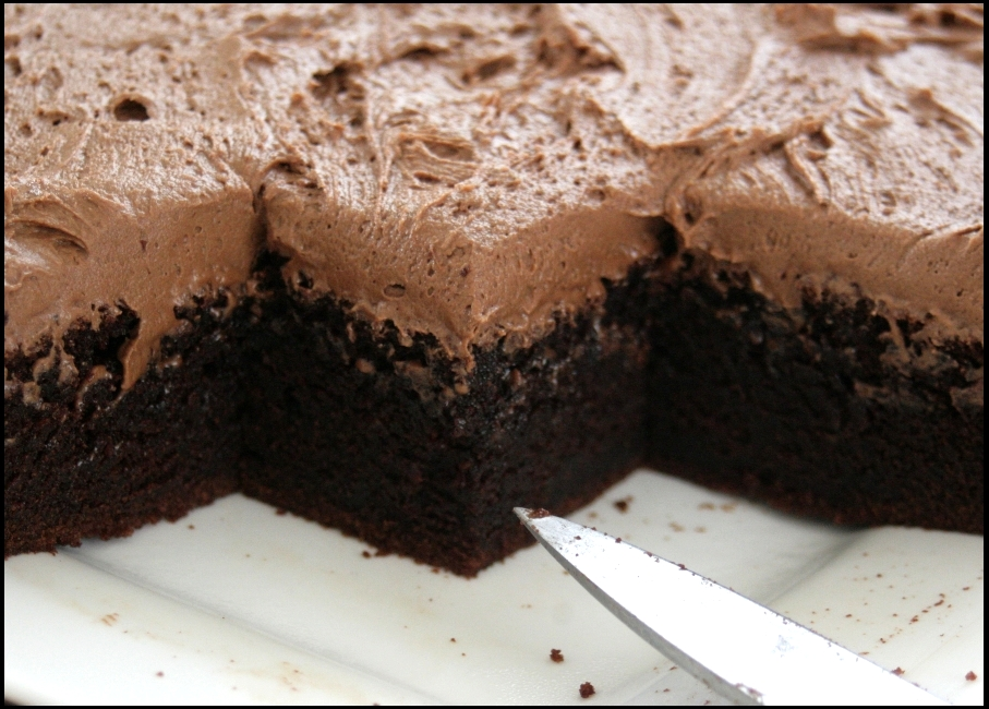 Just This Side Of Chaos Best Melt And Mix Chocolate Cake Youll