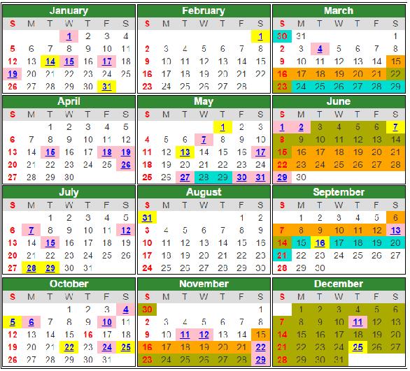 Kalendar Sekolah 2017 Related Keywords & Suggestions - Kalendar ...