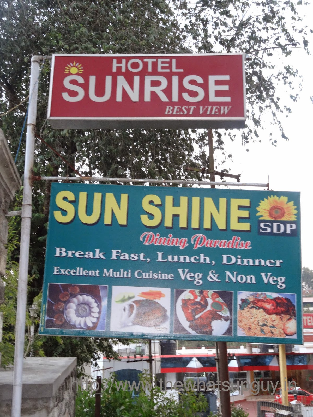Sun Shine Restaurant In Hotel Sunrise