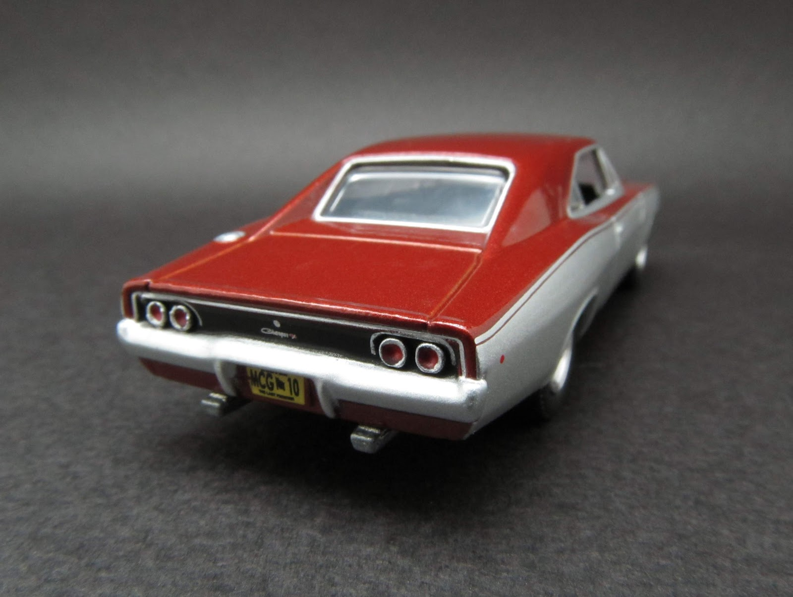 1968 dodge charger r t 1 64 scale diecast from greenlight muscle car garage stock custom series 10