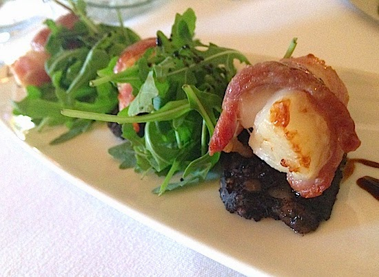 King Scallops Wrapped in Bacon