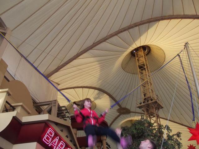 Butlins Bognor bungee trampoline