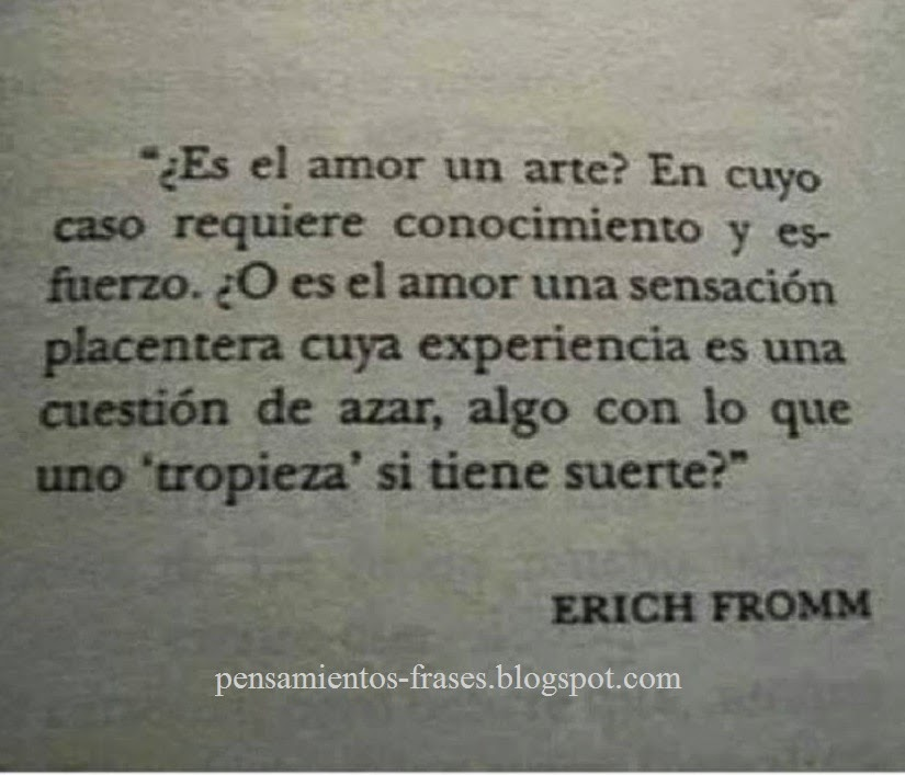 frases de Erich Fromm