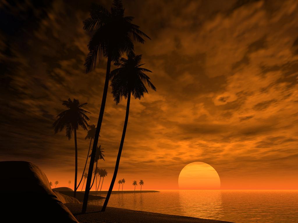 Pemandangan Sunset Foto Dunia Alam Semesta INDONESIA