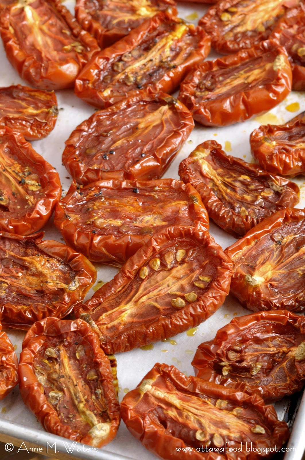 If Music be the Food of Love, Play On: Oven-Roasted Tomatoes