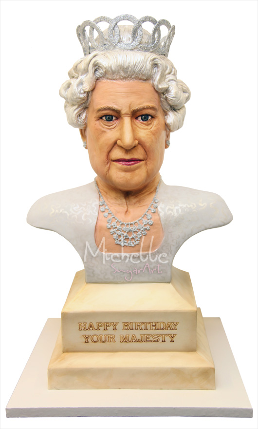 queen diamond jubilee cake