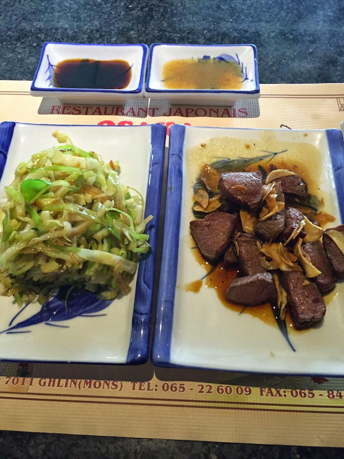 Osaka restaurant japonais ghlin mons - Restaurant japonais cuisine devant vous ...