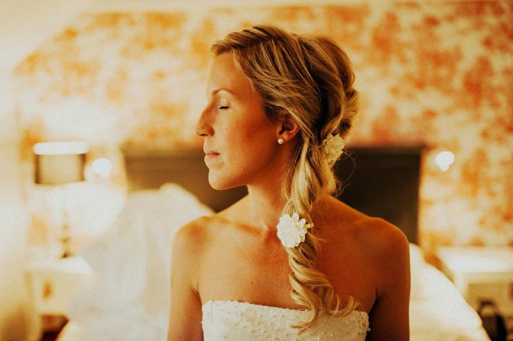 Bröllopsfotograf i Falun | Porträtt på Mikaela