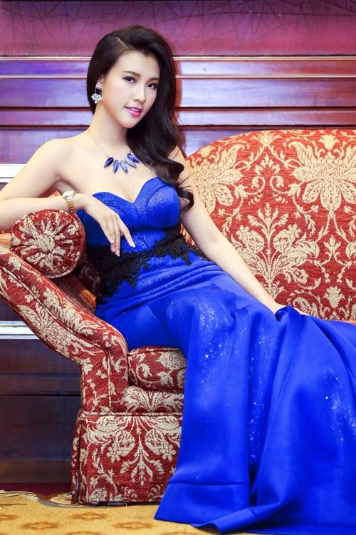 MC Vu Ngoc Hoang Oanh - Vietnamese Woman Miss