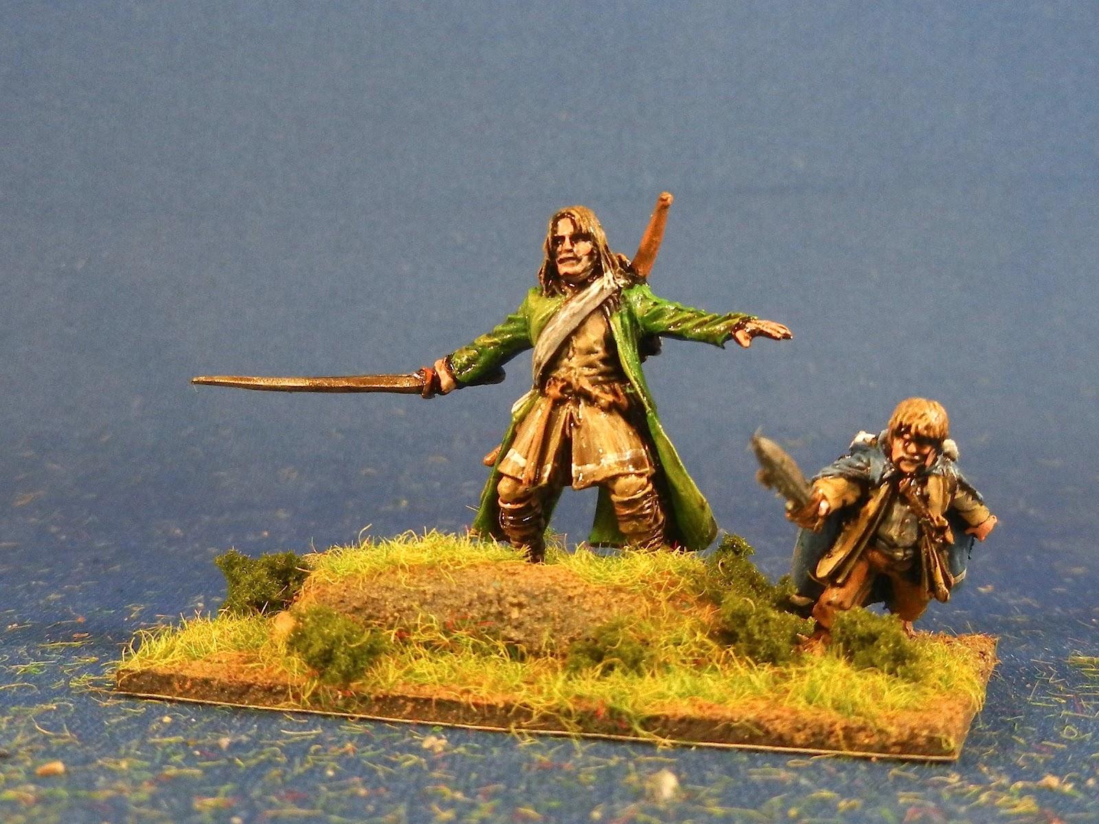 how to play battle of 5 armies hobbit guitat