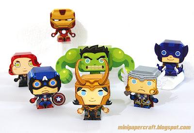 mini supereroi