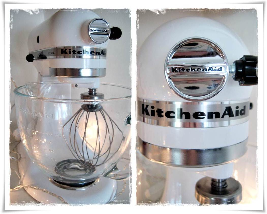kitchenaid artisan glasskål