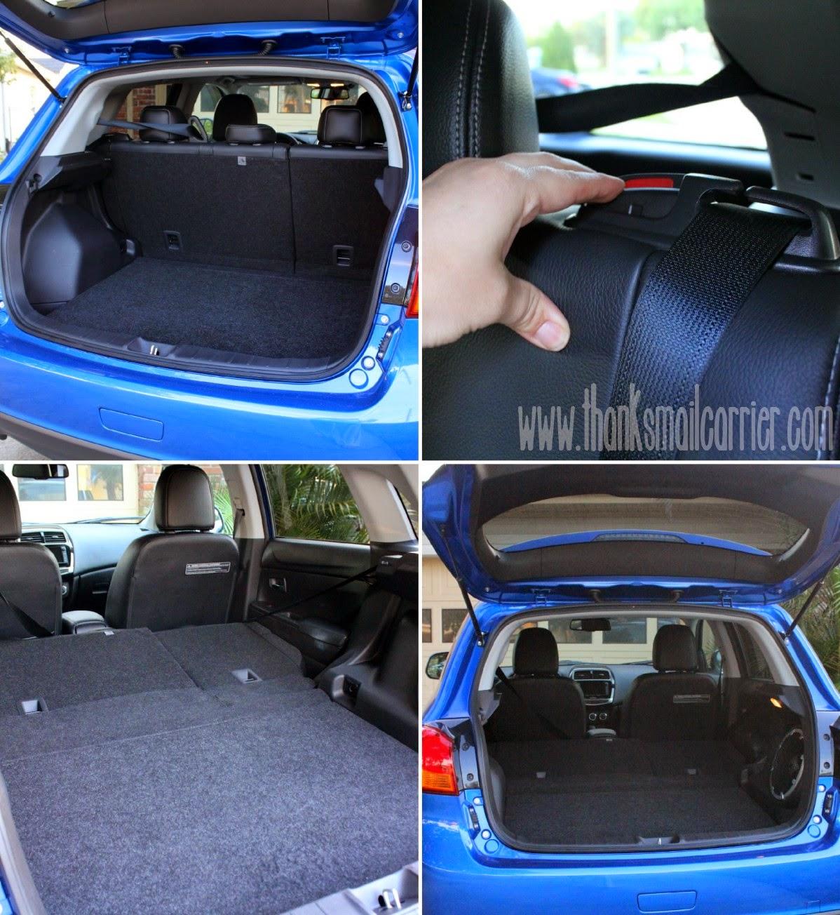 Mitsubishi Outlander Sport storage