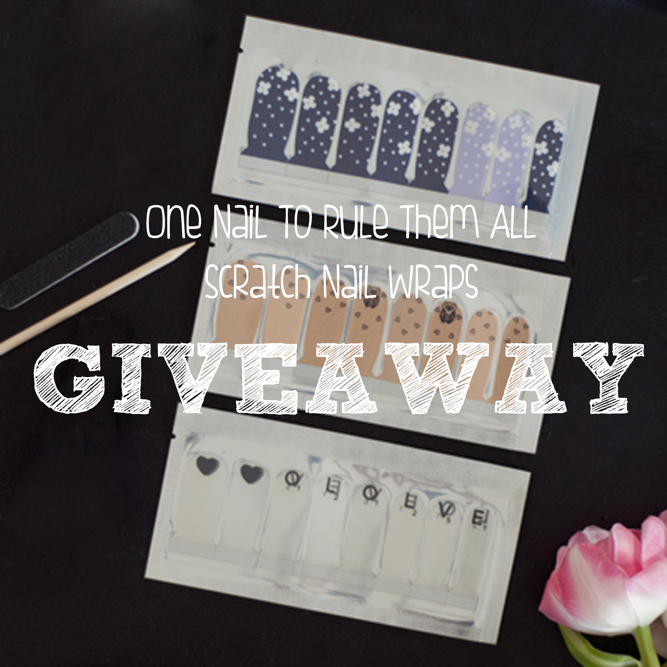 Scratch Nail Wraps GIVEAWAY