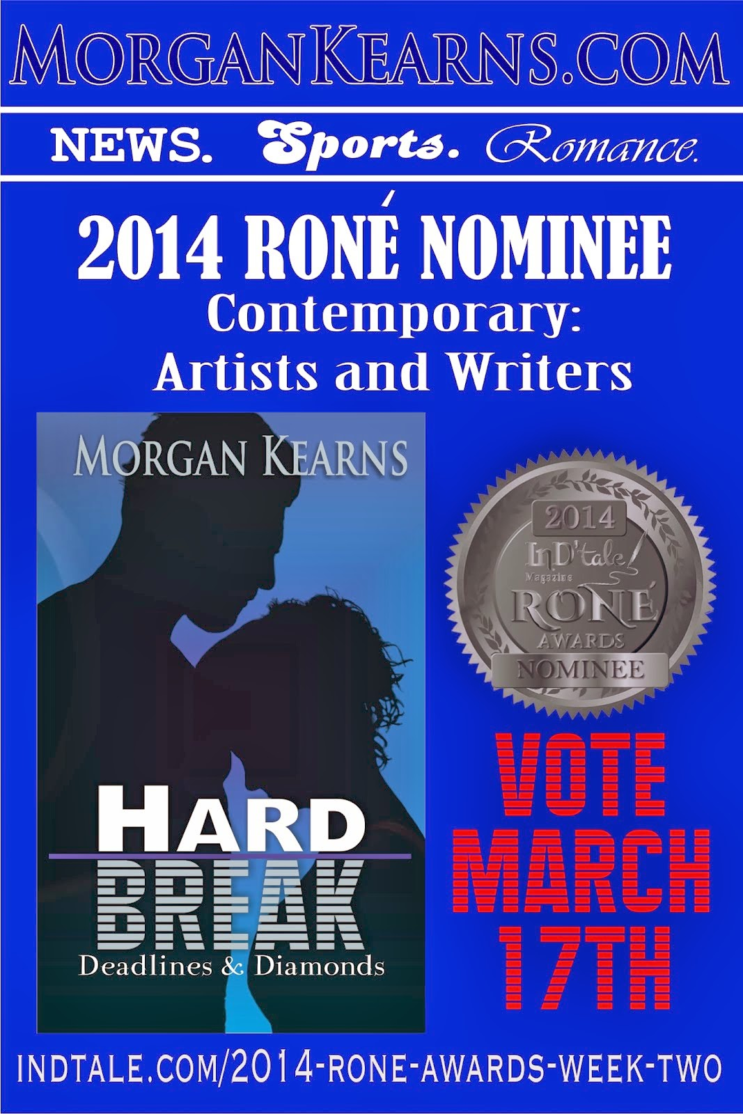 Hard Break ~ 2013 RONE Nominee