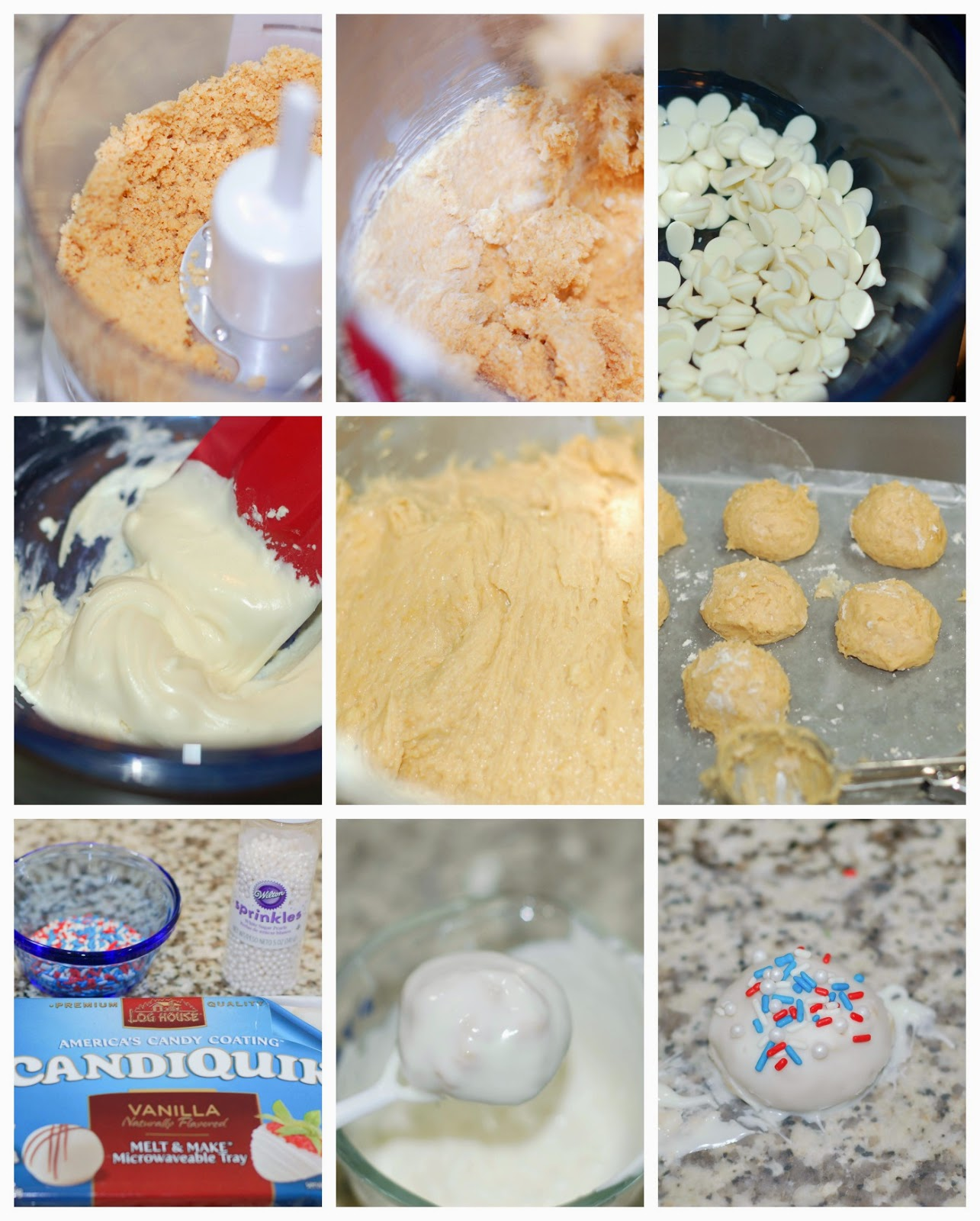 Making Lemon Oreo Truffles by The Sweet Chick