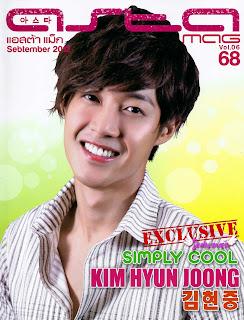 Kim Hyun Joong at Asta 18