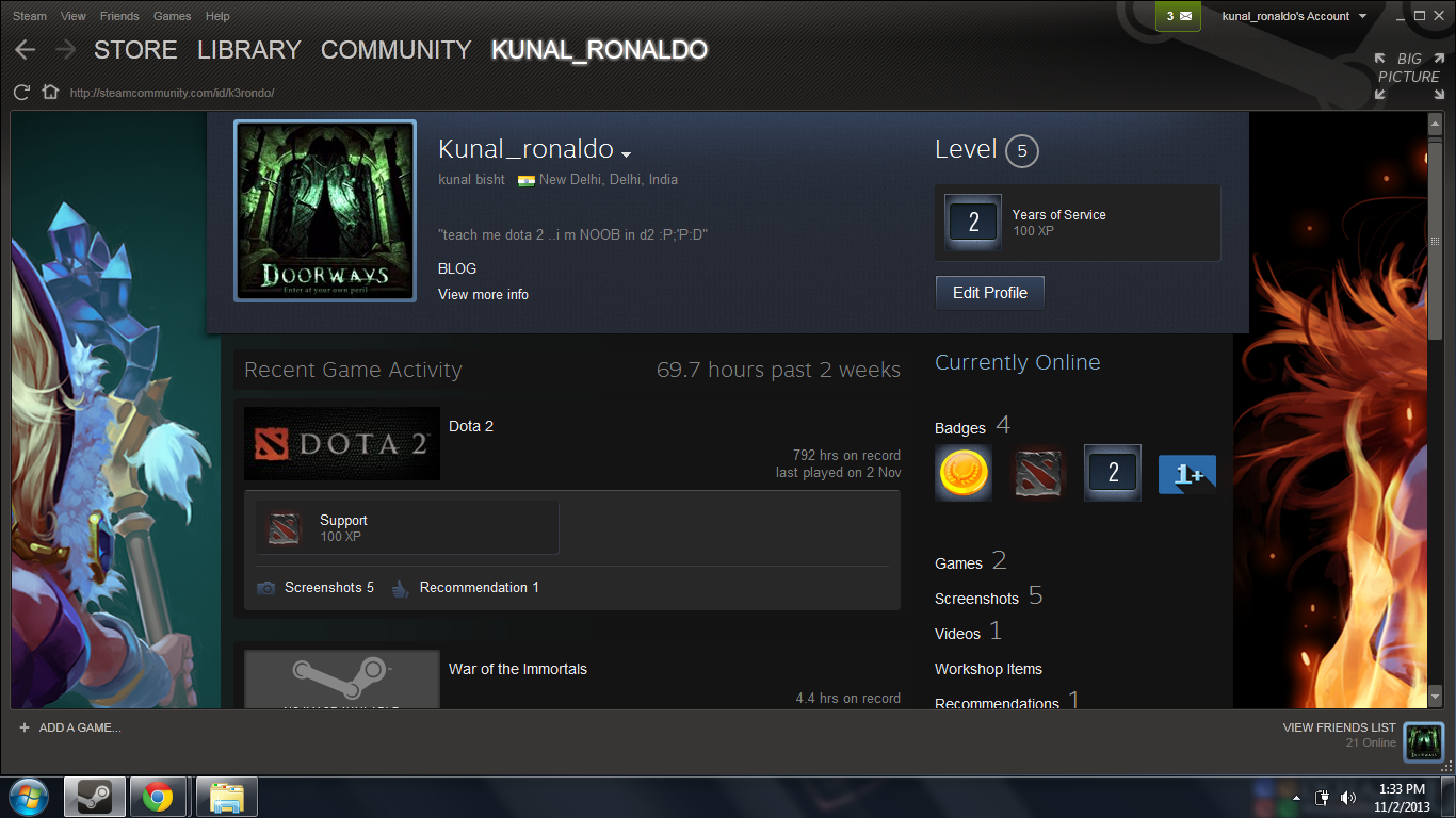 My Steam Profile