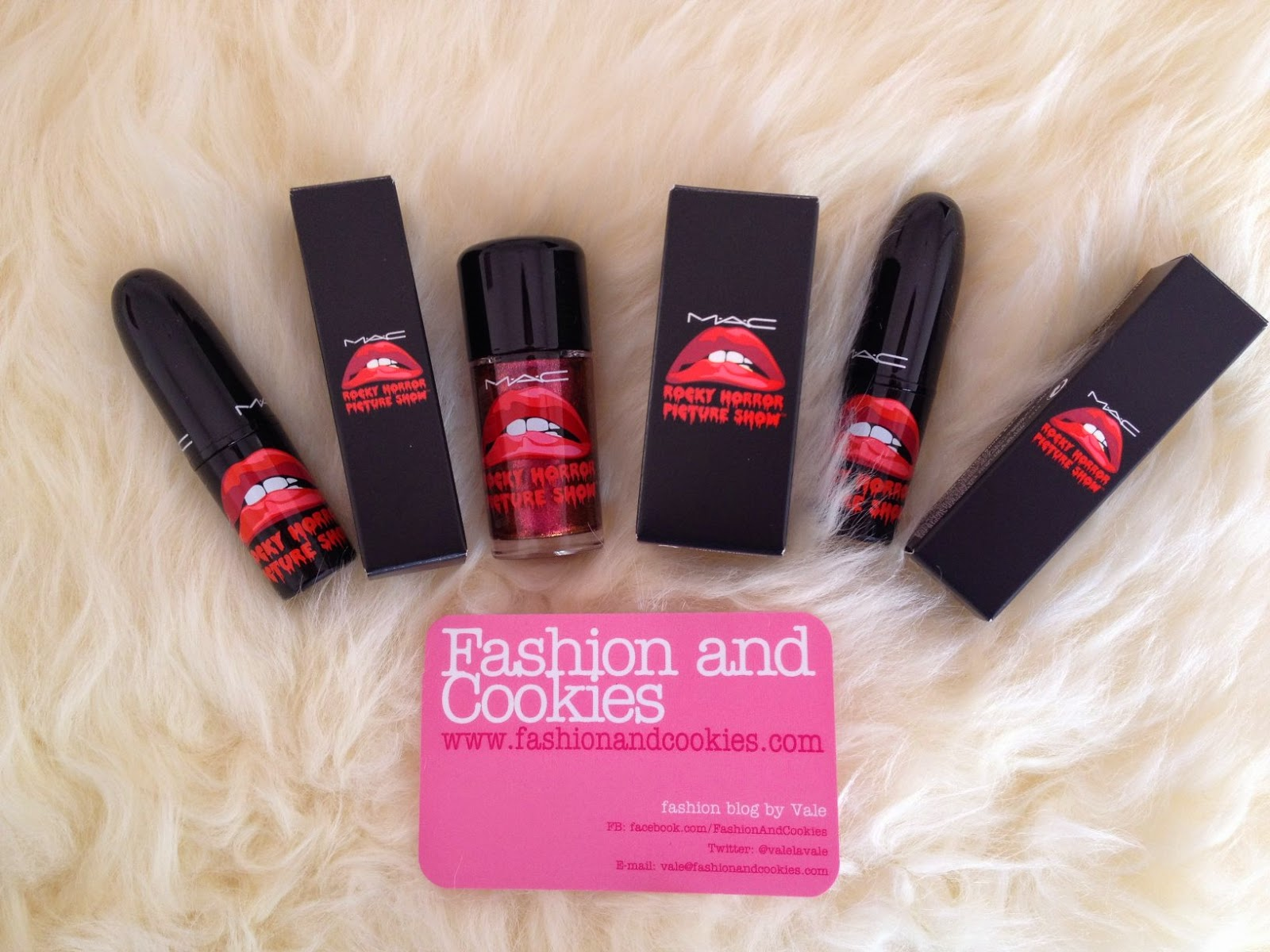 MAC Limited edition makeup, Mac Rocky Horror Picture Show, Oblivion, Strange Journey, Bad Fairy, Fashion and Cookies, fashion blogger