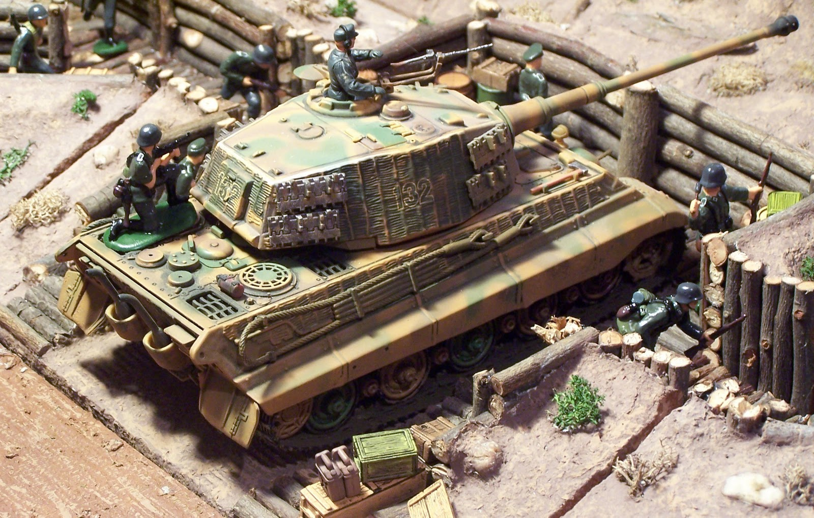 Wwii Plastic Toy Soldiers Introducing The King Tiger