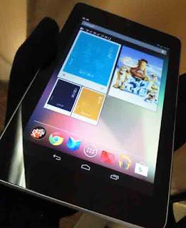Nexus 7(2012) に入っていたコンテンツ