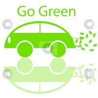 go green electric friendly car