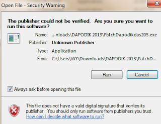 cara instal patch 2.05. cara update dapodik ke versi 2.05. cara menjalankan patch dapodik 2.05